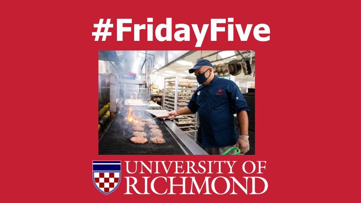 That does it for today's #FridayFive. Happy National Food Service Worker Appreciation Day to our @URDining team. Thank you for all the wonderful work you do for our campus community! https://t.co/9nTUARg9uZ