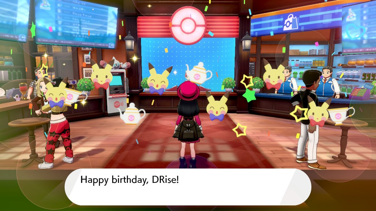 Thank you #PokemonSwordShield for giving me a birthday surprise! https://t.co/x9tx8MMv0r