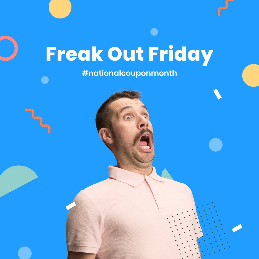 It's Freak Out Friday during National Coupon Month! Tell us about the best coupon you've ever used https://t.co/enjdLrhSlT