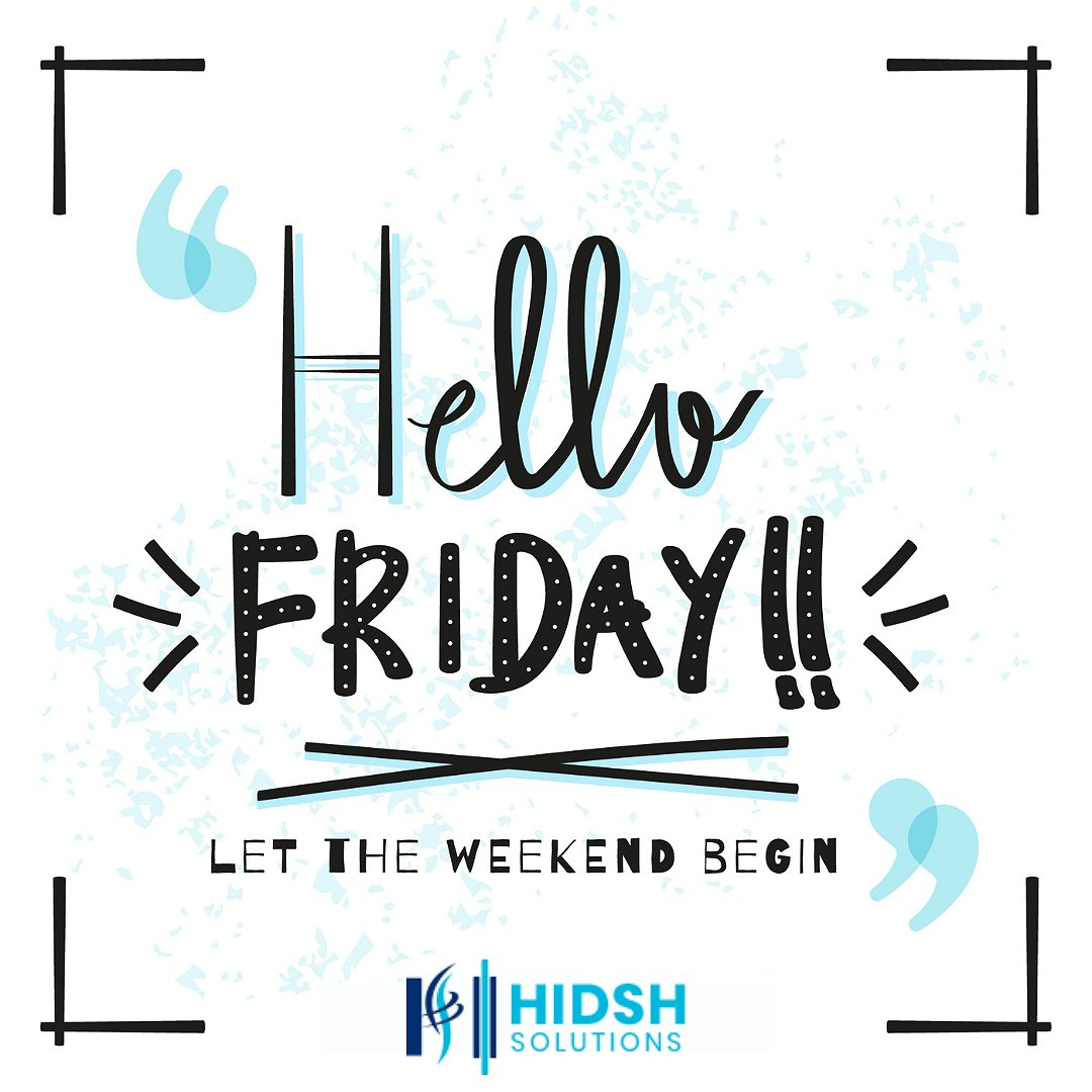 This Friday, finish your work and be done. Look forward to the weekend and have some fun!🥳 - #FridayFeeling   #FridayThoughts #fridaymorning #FridayVibes #FridayMotivation #ThankGodItsFriday #TGIF #Canada #Hidsh https://t.co/tkGA9fnBCR