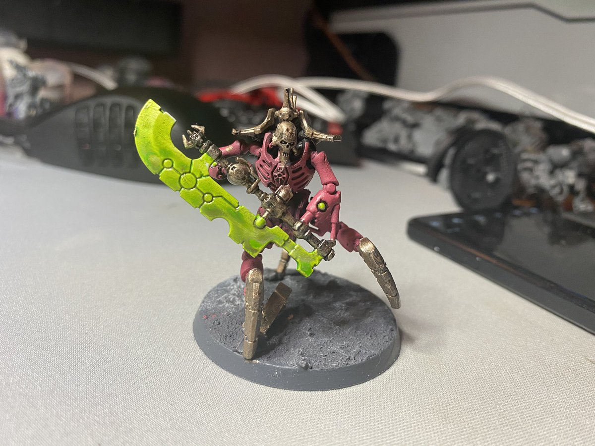@blood_medusa I'm Andy. I'm not a good painter, compared to lots of people here. But I'm loving that part of hobby. I barely play - but I love kill team. Also fan of Imperial Knights and Ordo Hereticus. :) https://t.co/JxlyPSCO60