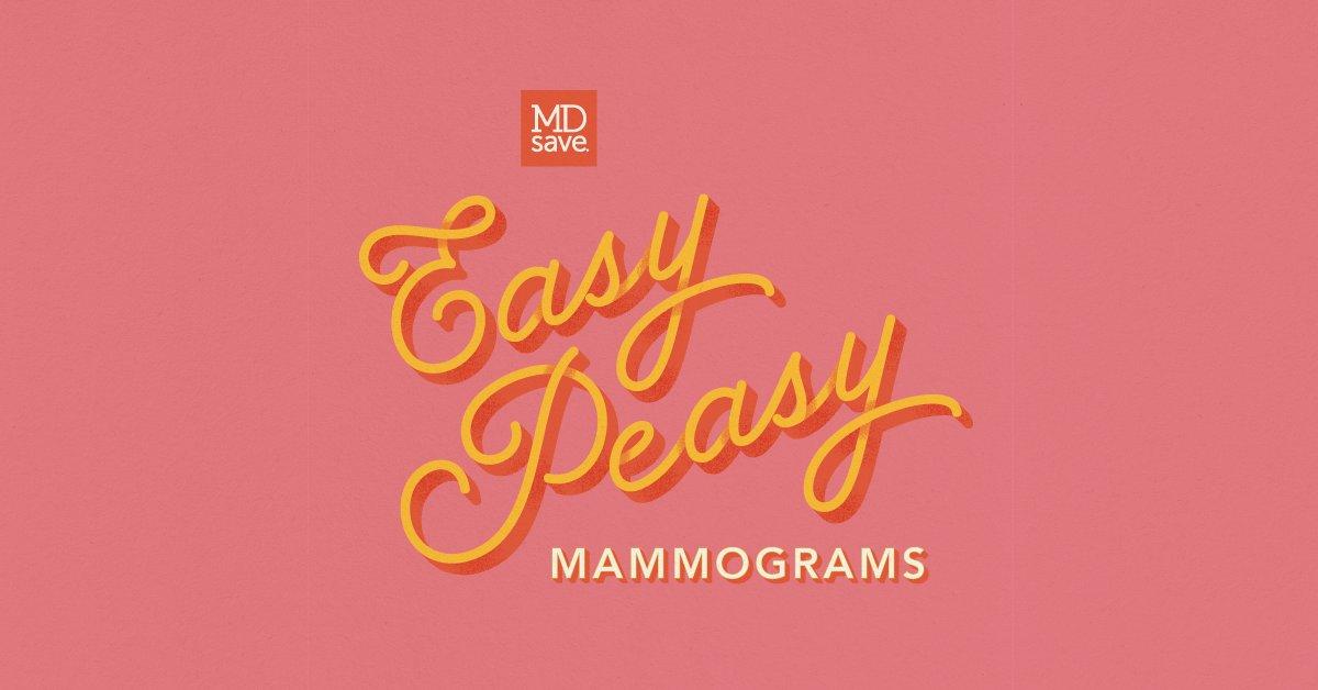 Mark your calendar - our $99 mammogram promotion is back! Starting October 1, get mammogram screenings from just $99 at https://t.co/NFdzsAxBwe. #BreastCancerAwarenessMonth #easypeasy https://t.co/3v5JWmUVdm