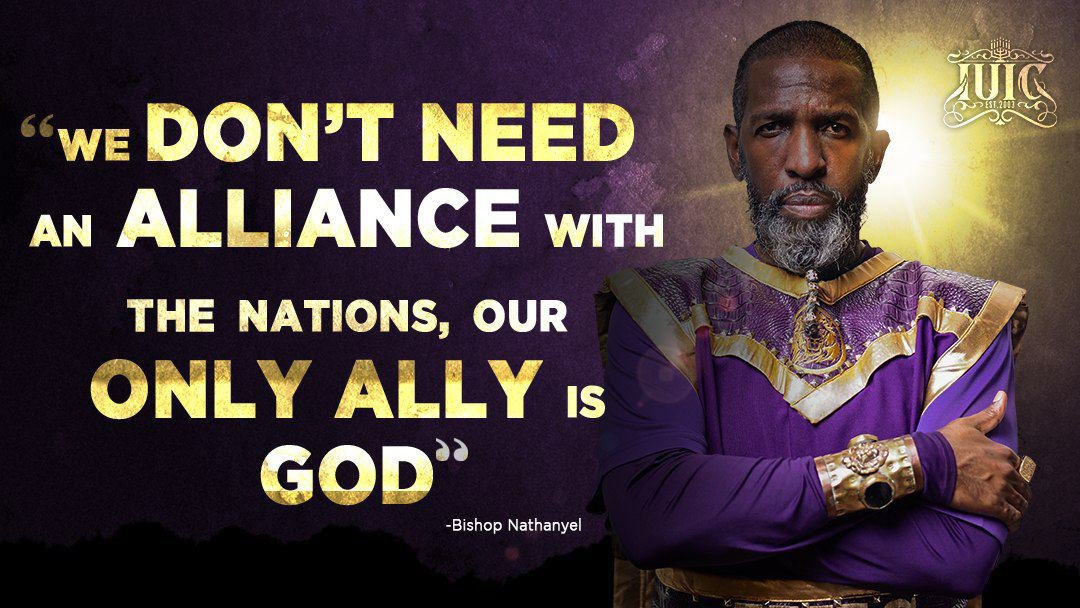 """""""We don't need an #Alliance with the Nations, our only #Ally is #God! #Israel #Wisdom #Counsel #Leadership #IUIC https://t.co/Up2ocTrSIU"""