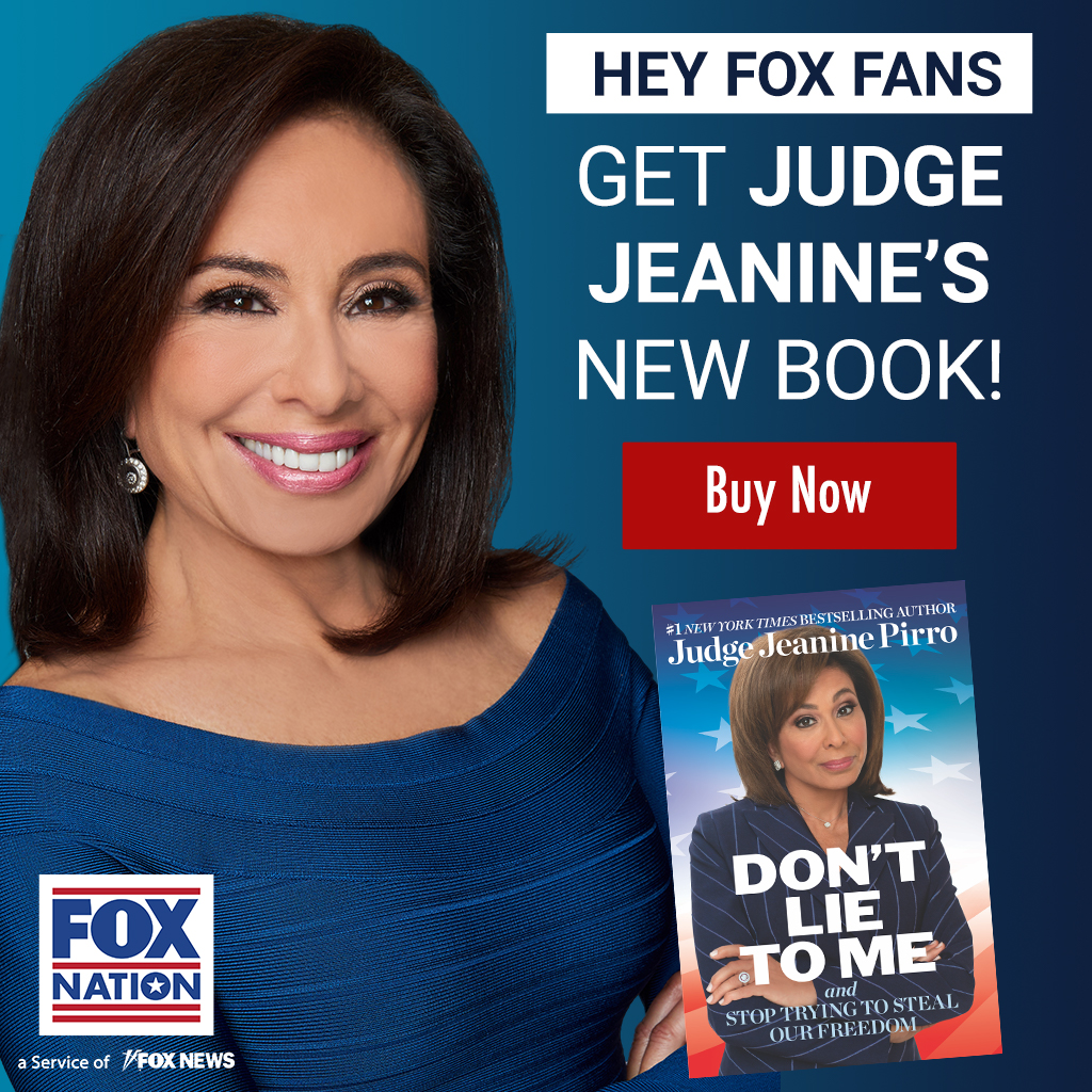 """@JudgeJeanine Pirro has released her brand new book, """"Don't Lie to Me,"""" where she exposes the many falsehoods and distortions in American politics today. Get your copy here: https://t.co/04vY6WYKWN https://t.co/RdabgBHYnA"""