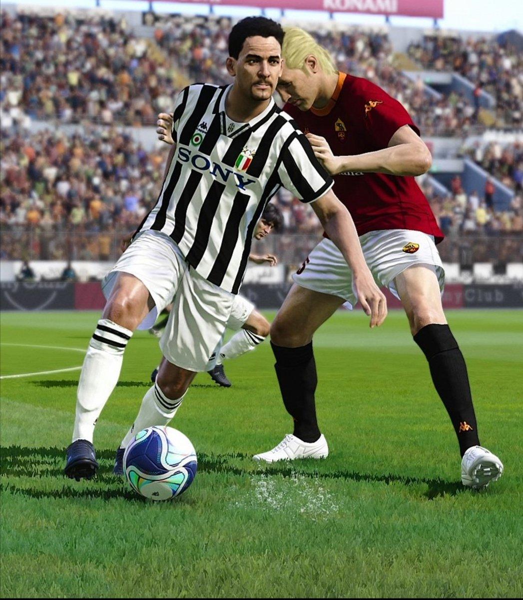 V1 @PESUniLegends classic clubs file 🔥 #eFootballPES2021 #PES2021 #PESUniverse #RomaJuve #Baggio #SerieA https://t.co/XW7Lh1ijPn