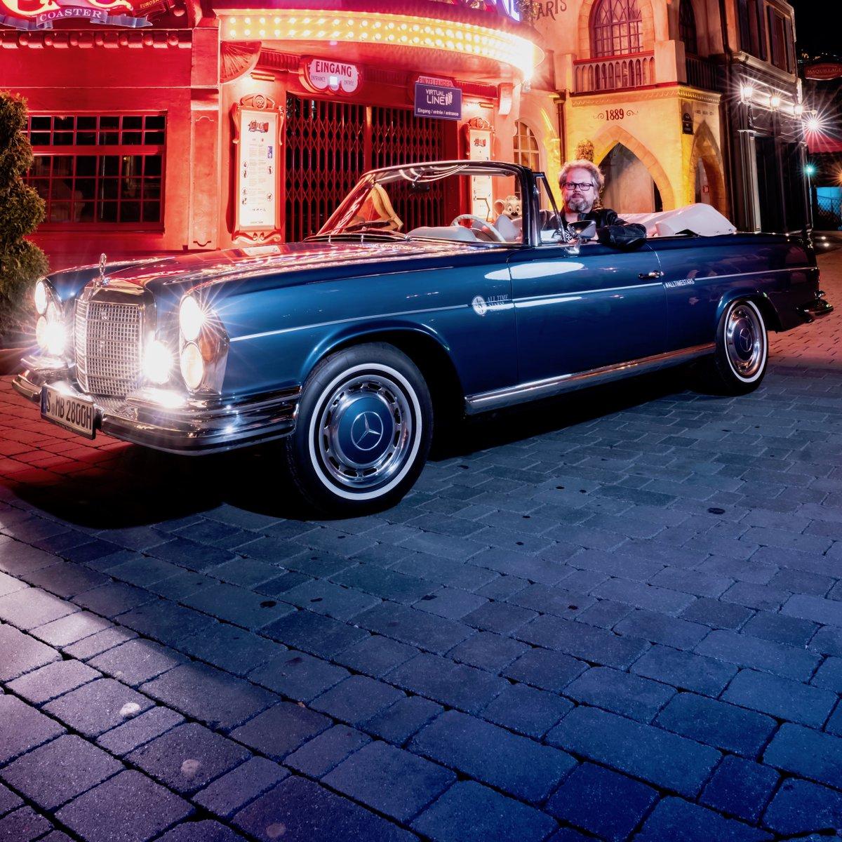 One of our most legendary models and a Mercedes-Benz All Time Star!  📷 Crewten @europa_park #MercedesBenz #Alltimestars #280SE #cabriolet #Mercedes #Benz https://t.co/ybb00nJL98