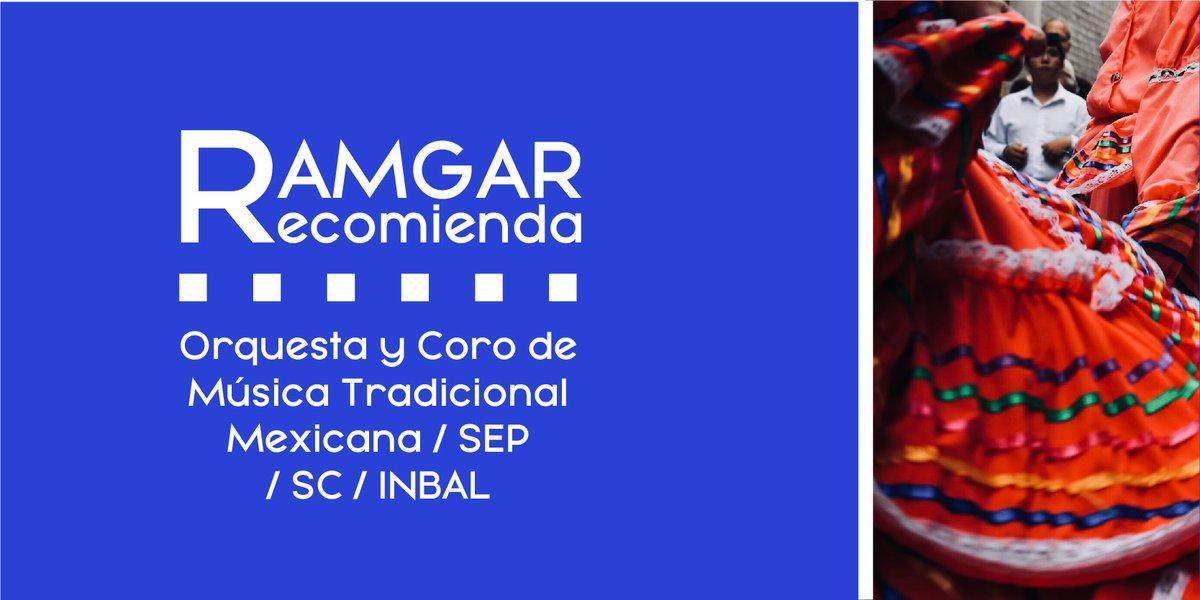 Llegó el último fin de semana del mes patrio y no queremos dejarlo pasar sin disfrutar de este fabuloso concierto. Disfruta del Orquesta y Coro de Música Tradicional Mexicana / SEP / SC / INBAL.  https://t.co/jJU06iIoUW  Sigue cuidándote.  #RamgarRecomienda #Quédateencasa https://t.co/olK5N5fkC1