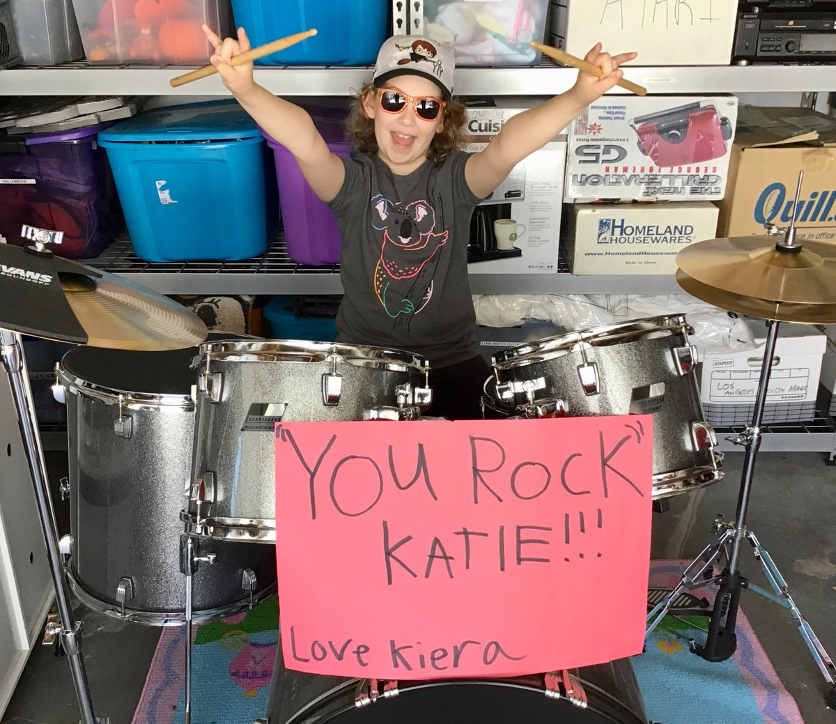 WE HAVE SOME OF THE GREATEST STUDENTS EVER! This gem is from our #TeacherAppreciationWeek! YOU ROCK, KATIE 💕 #flashbackfriday #fbf https://t.co/UNlQTxYxLW