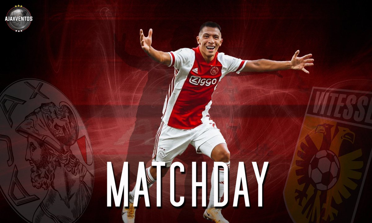 MATCHDAY!! #AjaVit #Ajax #Amsterdam #WijZijnAjax #JohanCruijffArena #AfcAjax https://t.co/XVKHRjCMpo