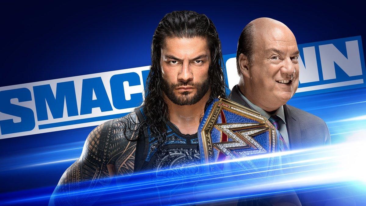 PPV「クラッシュ・オブ・チャンピオンズ」直前回❗️ #スマックダウン がアツい🔥🔥🔥 ・レインズが物申す! ・ゼイン vs. ハーディ ・アレクサ vs. レイシー @jsports_WWE でこれより朝9時放送・配信、日本語字幕版10/2(金)午後6時から! #土曜の朝はWWE #WWE #SmackDown #wwe_jp https://t.co/cvJZ3fvZfT