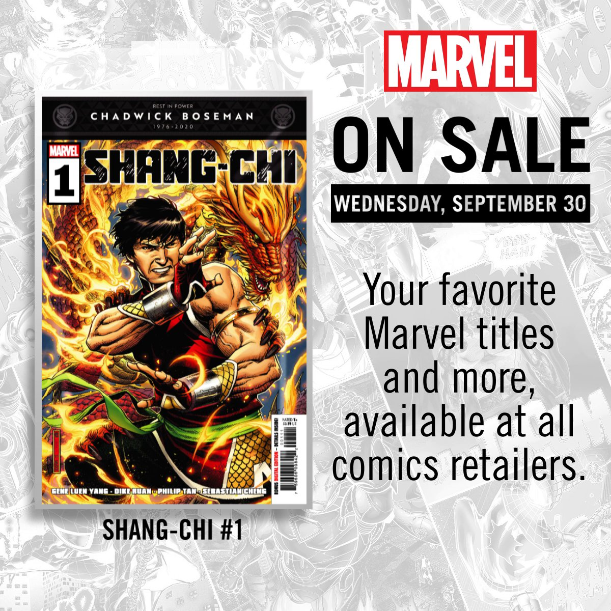 New comics are coming your way next week! Whats at the top of your reading list?
