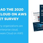 Image for the Tweet beginning: Download the 2020 VMware Cloud