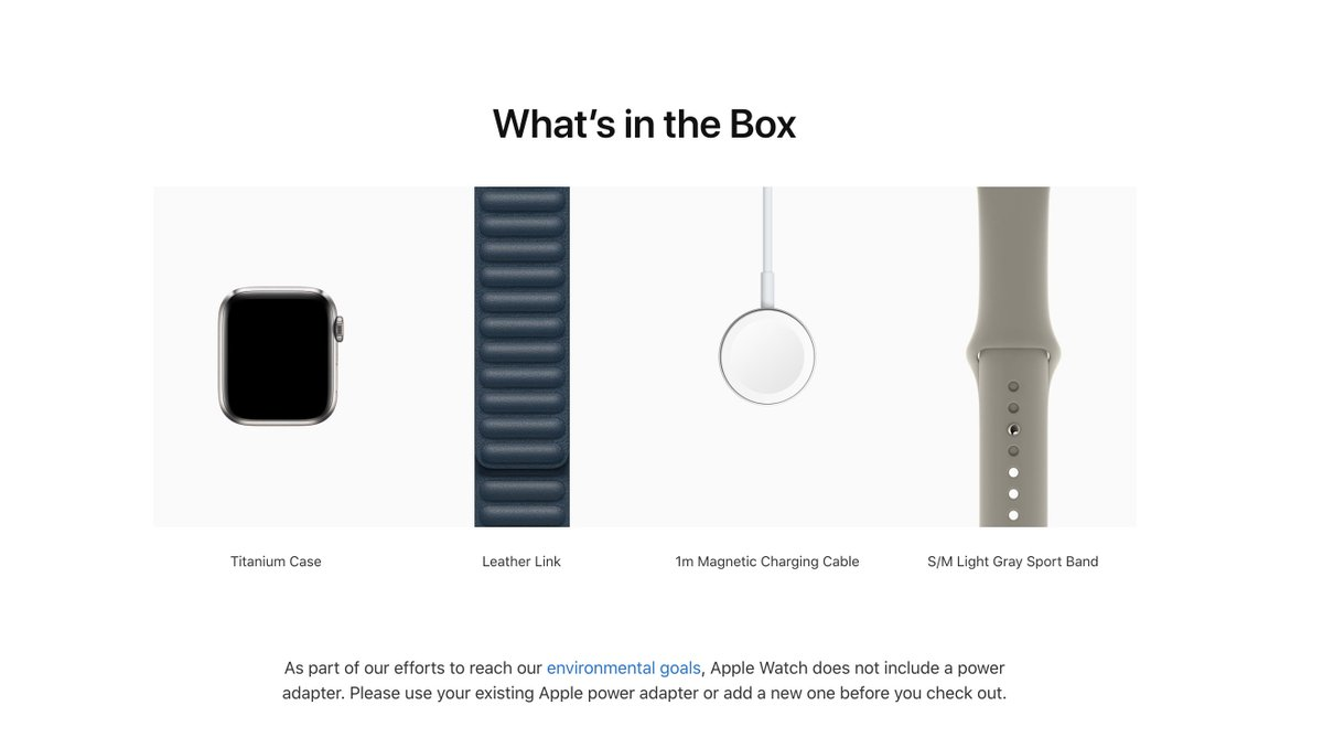 Apple reverses course, removes charging brick from Apple Watch Edition and Hermès
