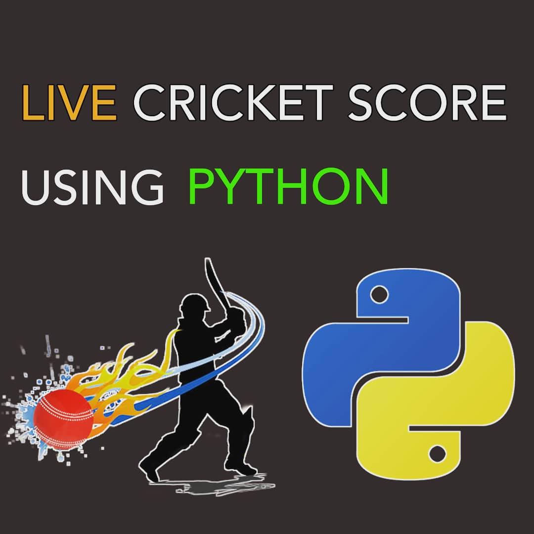 Live Cricket Score using Python Follow @C0DEBYTE  for more  #IPL2020 #IPL #programming #coding #pythonprogramming #python3 #javascript30 #programmingmemes #AUTOMATION #python https://t.co/C81LDGPgyk