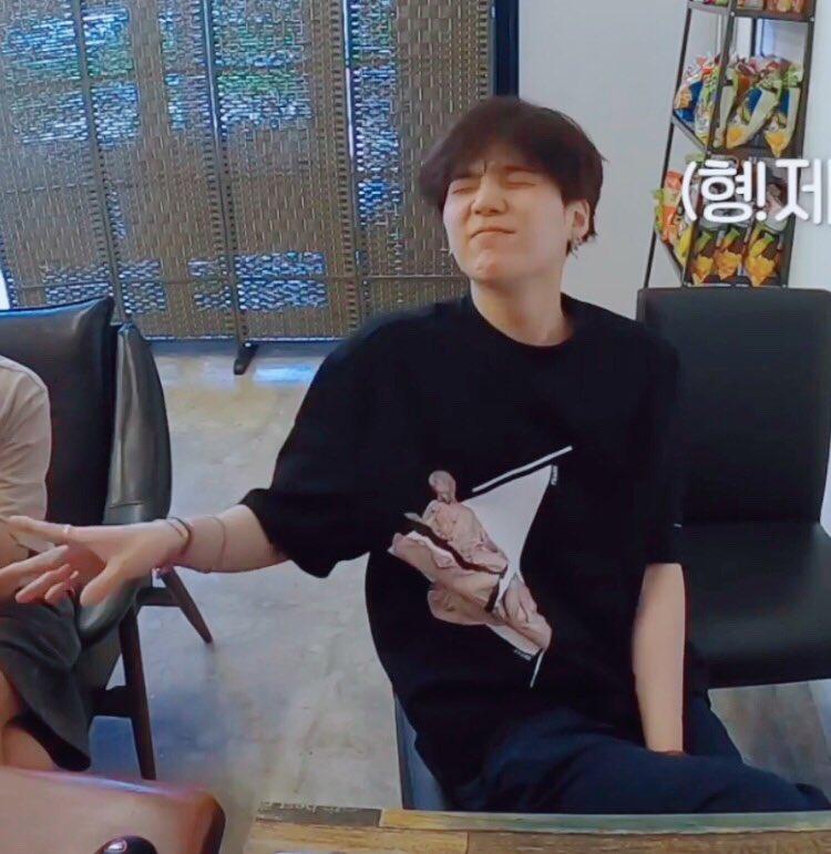 Yoongi as a cute baby a soft thread :