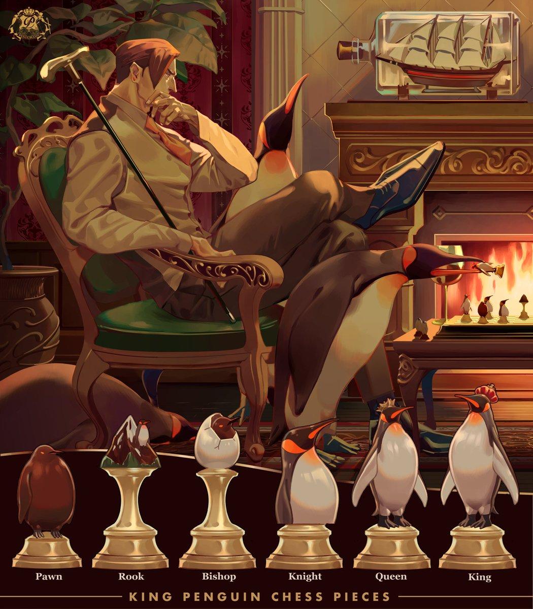 ペンギンのチェス