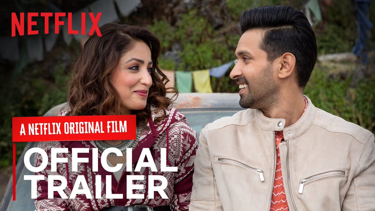 #GinnyWedsSunny Trailer featuring Yami Gautam, Vikrant Massey, Ayesha Raza is out now..!!  Movie premiering on NETFLIX, this October 9th.   Watch here: https://t.co/06sOglYOfH https://t.co/D9zQUpdAir