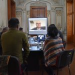 Image for the Tweet beginning: Reunión de @CarmenMireyaCG en compañía