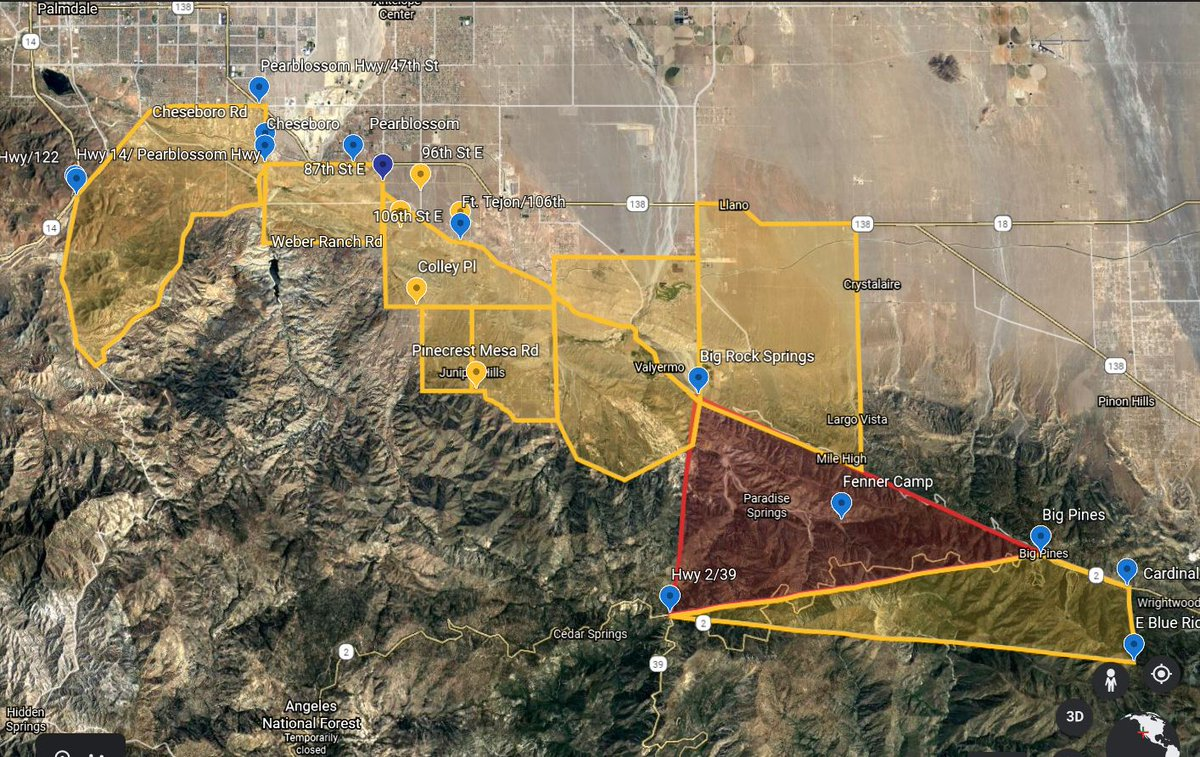 #BOBCAT Fire evacuation orders lifted and changed for the specified areas of the Antelope Valley to warnings as of September 25, 2020 at 4 PM.  Residents may return to their homes with proper identification.  @LACoFDPIO @angeles_NF https://t.co/Yc03FC7F67