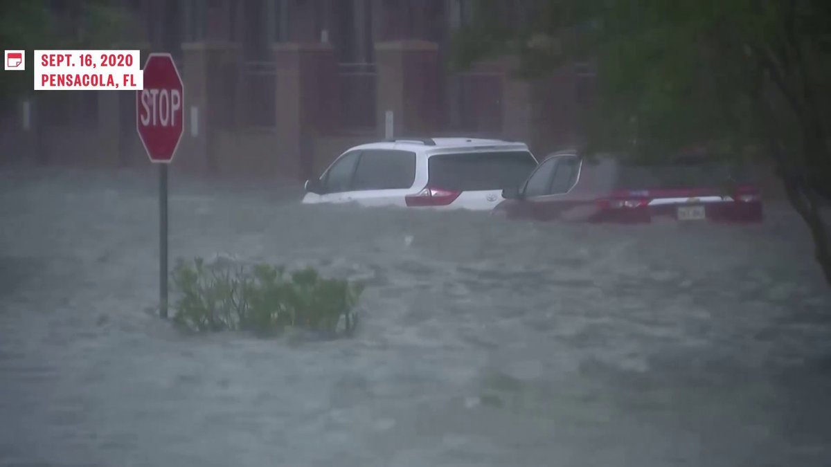 Tropical storm Beta is the 9th named storm to make landfall this season in what climate change experts warn could be our new normal  @WatchSavannah reports  Watch NOW: https://t.co/U4UZMHn7bF https://t.co/FMKqCC4ZLR