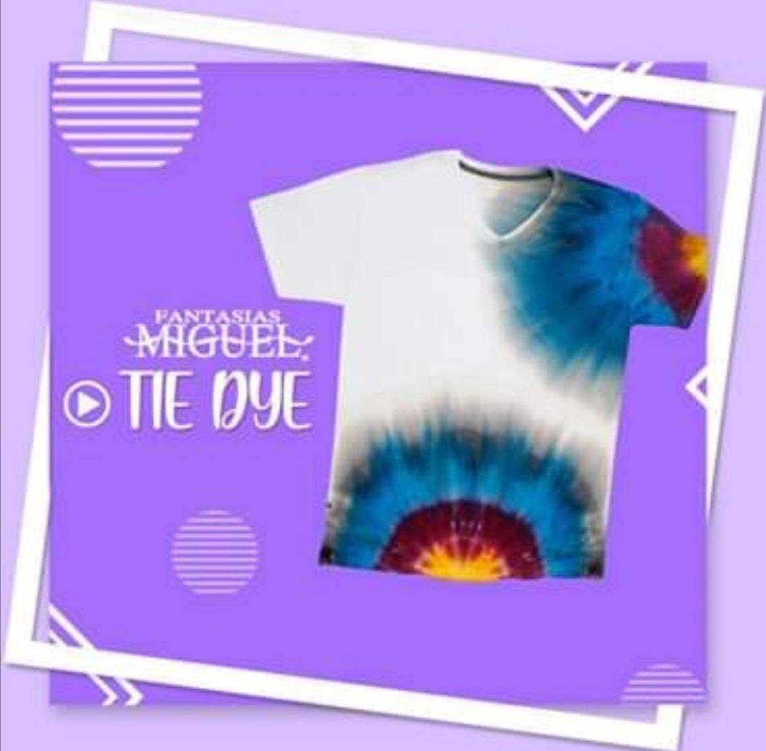 ¡Empieza tu negocio de Tie Dye! Te dejamos un diseño increíble para que lo apliques y comiences a VENDER tus camisetas con colores únicos. https://t.co/fb4NmEQE8t @FantasiasMiguel #PradoNorte #Lomas #hazloconfantasiasmiguel #ventas #manualidades #materiales #hazlotumismo https://t.co/3NrRAluiV6