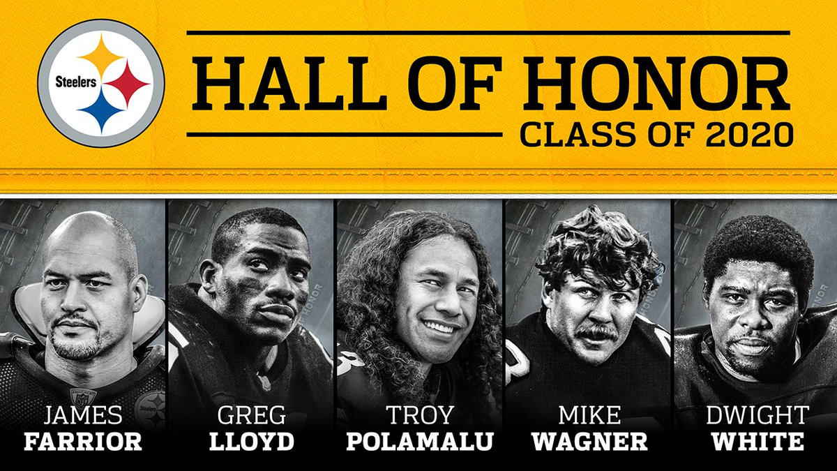 Introducing the #HallofHonor Class of 2020! https://t.co/cxHkvy4kKu