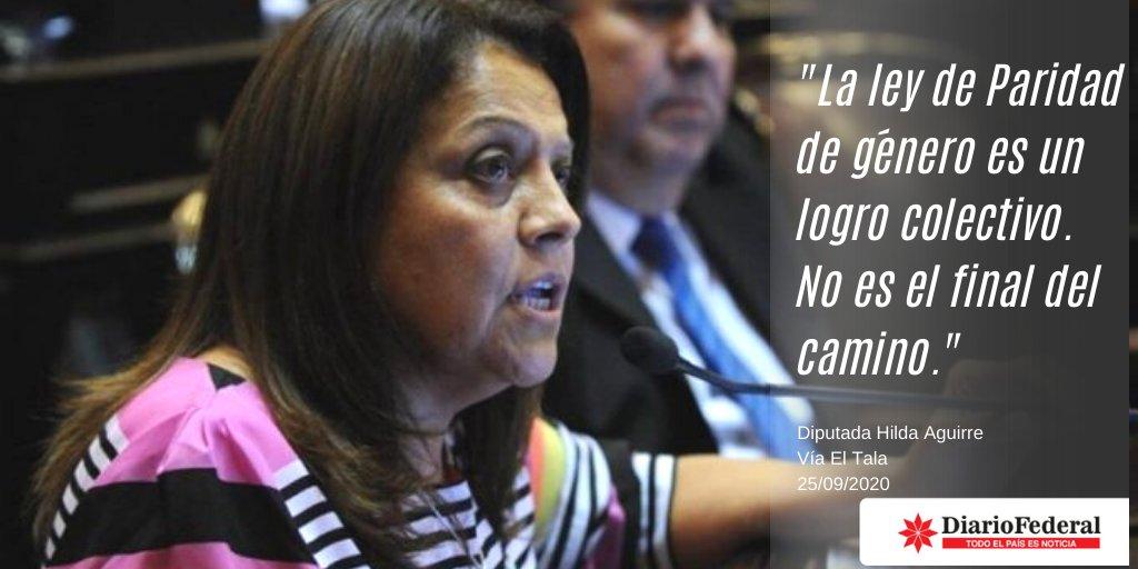 """La Diputada @bebasoria celebró """"La ley de #Paridad de #género es un logro colectivo"""" recordando que """"No es el final del camino. Nos queda mucho por recorrer todavía"""", a través de #ElTala https://t.co/HkWWODI7mZ"""
