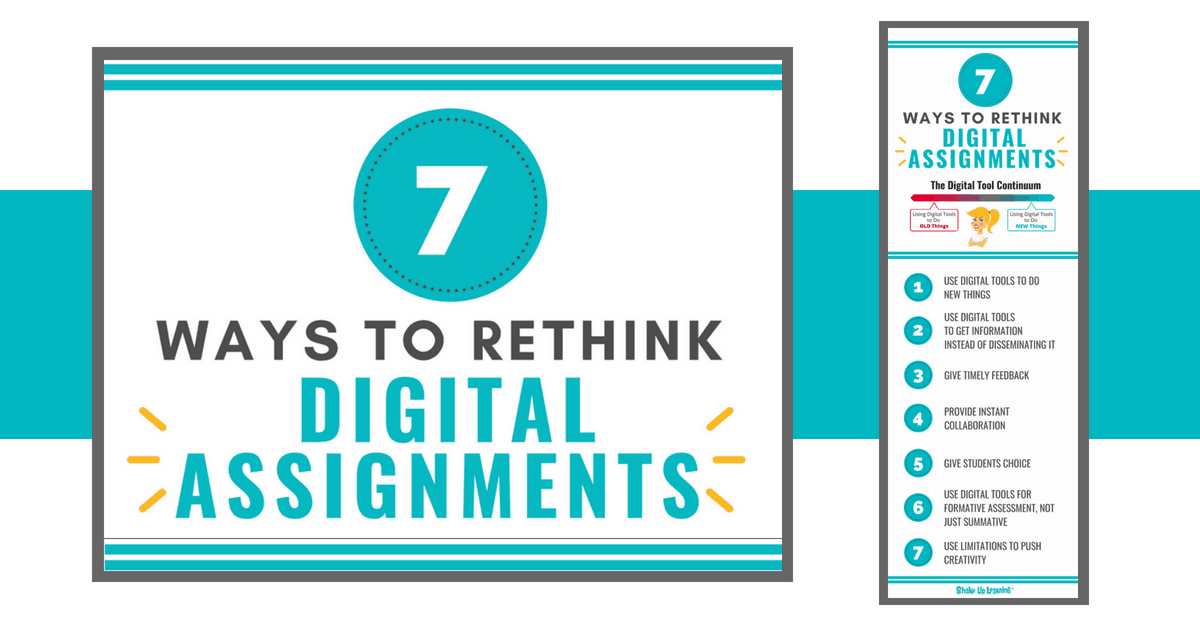 If you want to transition your classroom to an online or blended environment, you must rethink traditional assignments and how you use technology.  https://t.co/tCEJzVdM8q @ShakeUpLearning #remotelearning #blendedlearning #edtech #educhat https://t.co/w9wSRHbxZX