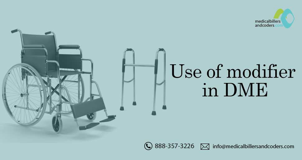 In addition to an appropriate HCPCS code for the DME item, many HCPCS codes require a modifier. If modifiers are used incorrectly or missing, the claim may be denied. To know more click here: https://t.co/myzmkSzBIb #DME #DMEBilling #HCPCS #Modifiers #CPT #ICD10 #MedicalBilling https://t.co/jBDGzKun01