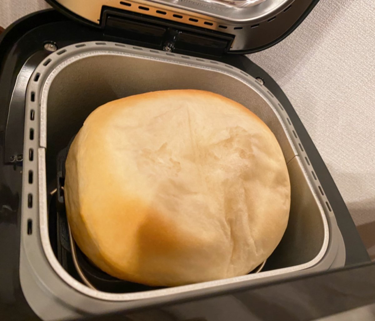 パンをつくったらしあわせになりました朝🍞おはよう