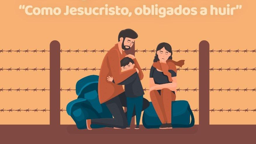 Desde la @RJM_CA  les invitamos a sumarse a la Eucaritía especial por las personas migrantes, desplazadas y refugiadas. A través de facebook live este domingo 27, a las 8 de la mañana hora Guatemala. https://t.co/59VXDciAOI