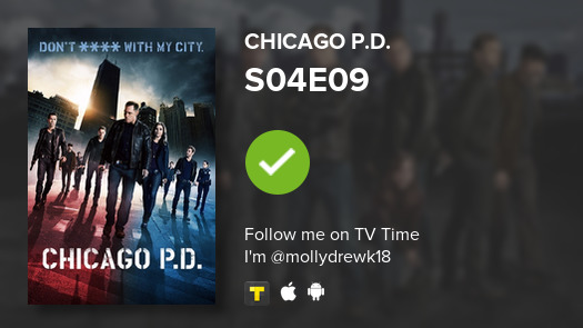 I've just watched episode S04E09 of Chicago P.D.! #chicagopd  #tvtime https://t.co/fRptSgc0nn https://t.co/Biup2vsF2L