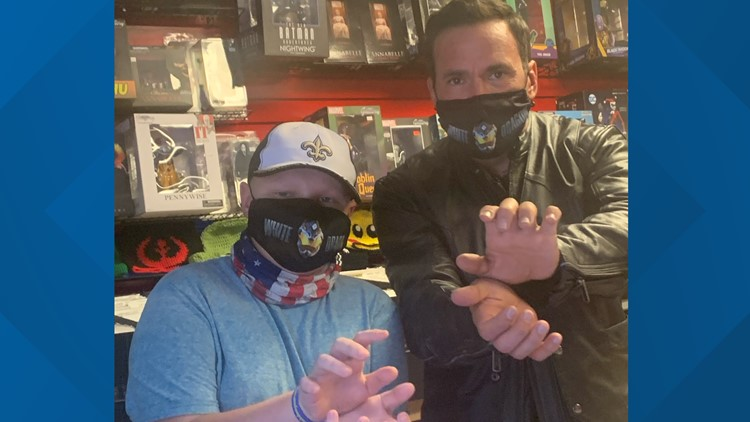 It's Morphin Time: Power Rangers' Jason David Frank meets 12-year-old St. Jude patient, Tristen  https://t.co/pG5BRJJqIr https://t.co/G9d3Ajw6wY