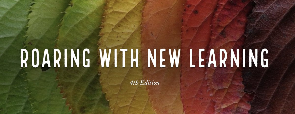 Interested in some quick tips and deep learning ideas? Check out 4th edition of Roaring with New Learning https://t.co/ZDq3O72Y2L #INeLearn #LeadUpchat #tlap @jmattmiller @trevorabryan @yourkidsteacher @pearse_margie @KentHaines @EducateIN @JayBilly2 @MathDenisNJ @GCSSecAsstSupt https://t.co/wYFtqRwkQG