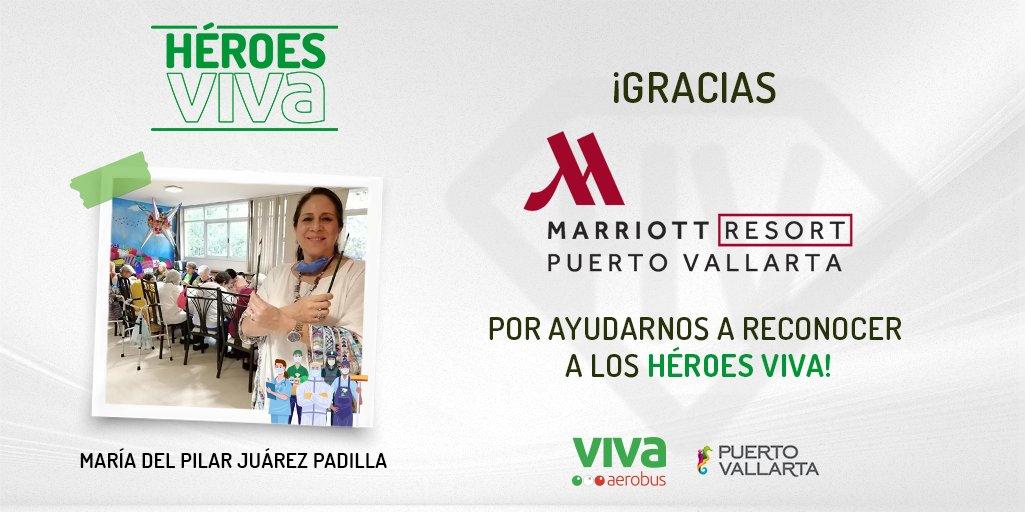 🦸🏻♂️🦸🏻♀️ Llegó el momento de premiar a nuestros #HéroesViva y disfrutar de unas merecidas vacaciones en @PuertoVallarta, ¡gracias @MarriottPV por ayudarnos a reconocer su esfuerzo! Conoce más. 👉 https://t.co/xgPDt7I8FE #PuertoVallarta https://t.co/rI06pUixaw