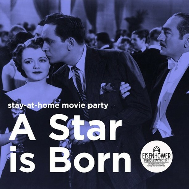 Monday, September 28, 7:00 PM.  We may not be able to watch movies together right now but that doesn't mean we can't keep the screenings going. Join us on our Facebook page at 7:00 PM for an online screening of the original version of A Star is Born.  Po… https://t.co/g2KspEfwQv https://t.co/ZmvOQ4GNVe