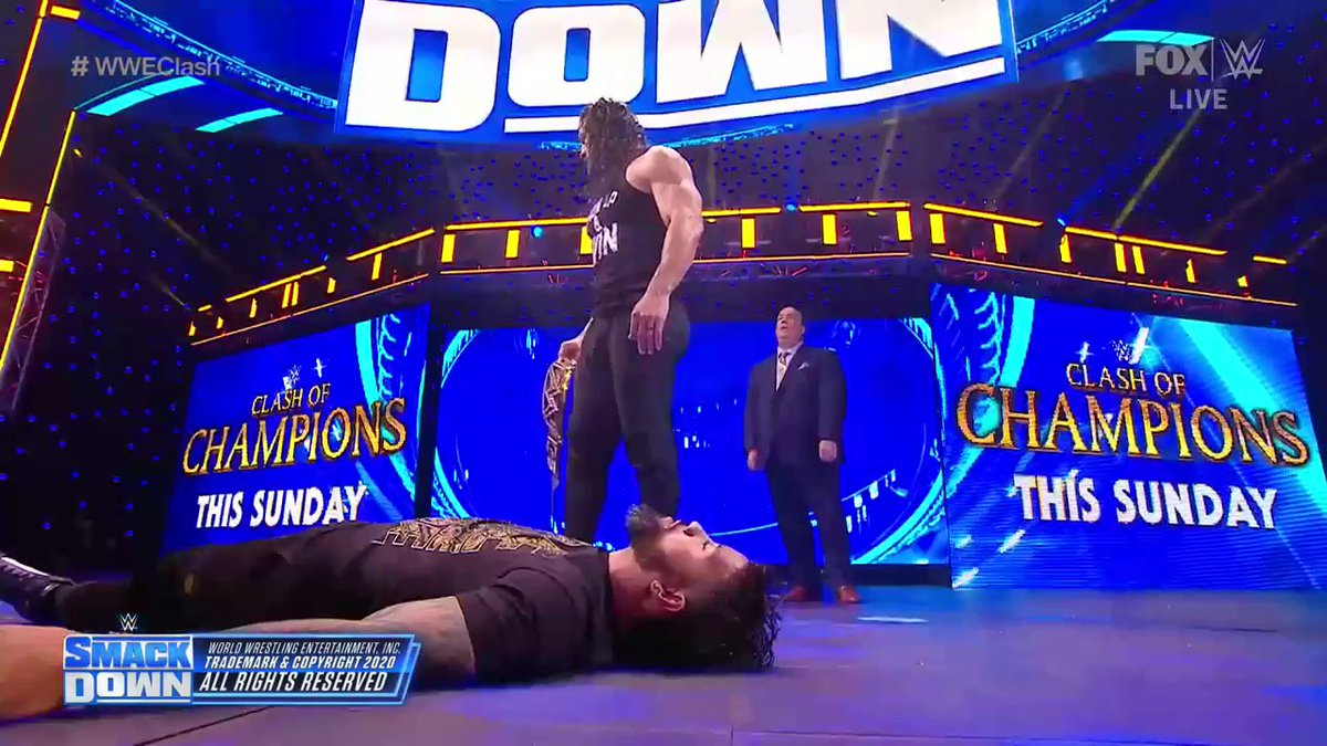 @WWEonFOX's photo on #smackdown