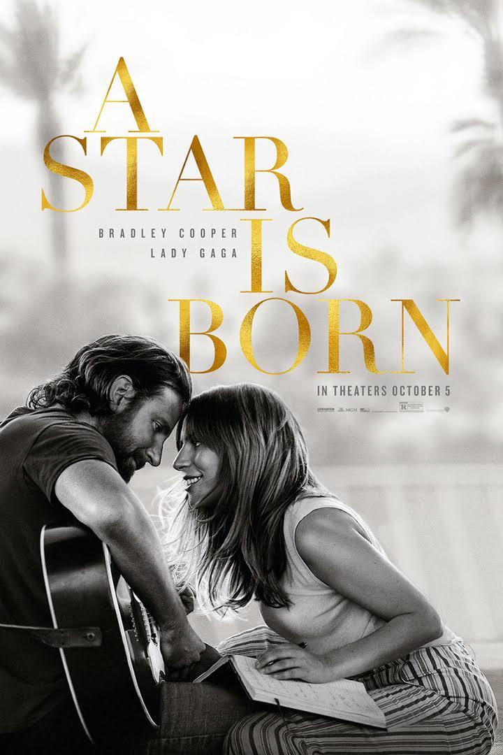 5. A Star is Born (2018) dir. Bradley Cooper https://t.co/o0V8ovqT3G