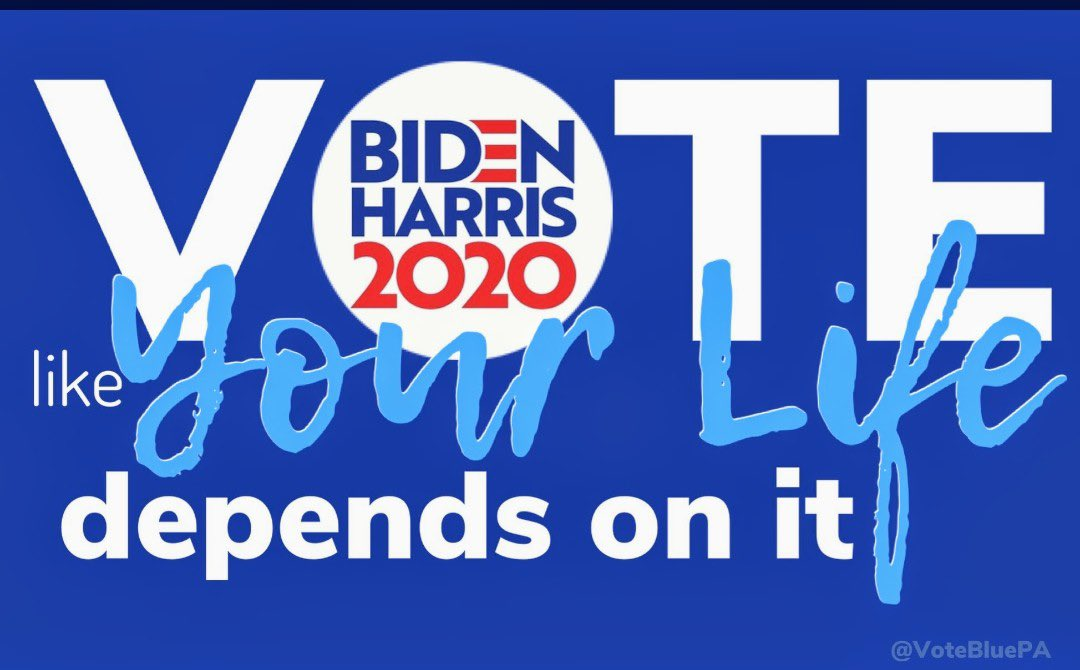 @JoeBiden will make voting easier and safer for all of us!!   🔹Your voice is your vote, let it be heard loud and clear!!  #VoteBidenHarris  #ONEV1 #DemVoice1 #OVElections https://t.co/N7lHAxOch3