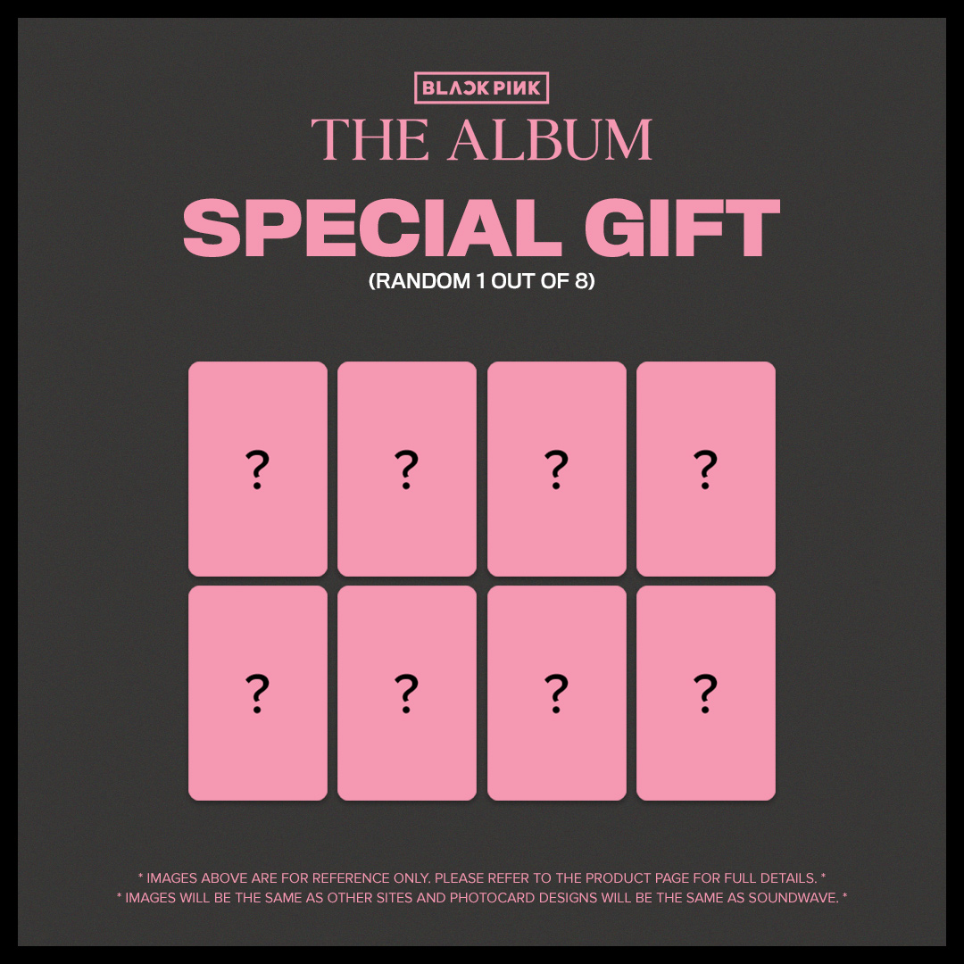 Hey #BLINK 💗 Purchase 💿 BLACKPINK 1ST FULL ALBUM 💿 from SubK Shop and enjoy a SPECIAL PHOTOCARD (Random 1 out of 8), being offered in collaboration with YG Entertainment and Soundwave! 🔗 subkshop.com/products/black… #BLACKPINK #블랙핑크 #SUBKSHOP #SUBKSQUAD