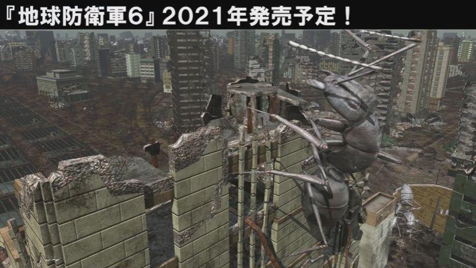 【EDF! EDF!】『地球防衛軍6』の最新画像が公開対応ハードは未定、2021年発売予定。『地球防衛軍5』の3年後、荒廃した地球が舞台となる