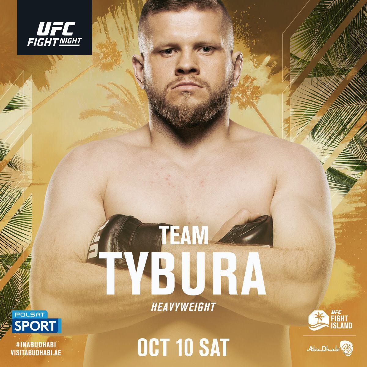 Dziś w nocy (3:30 PL) @MarcinTybura w oktagonie UFC na #UFCFightIsland5 Oglądajcie @polsatsport i kibicujcie Marcinowi. https://t.co/MMuSnCR6MD