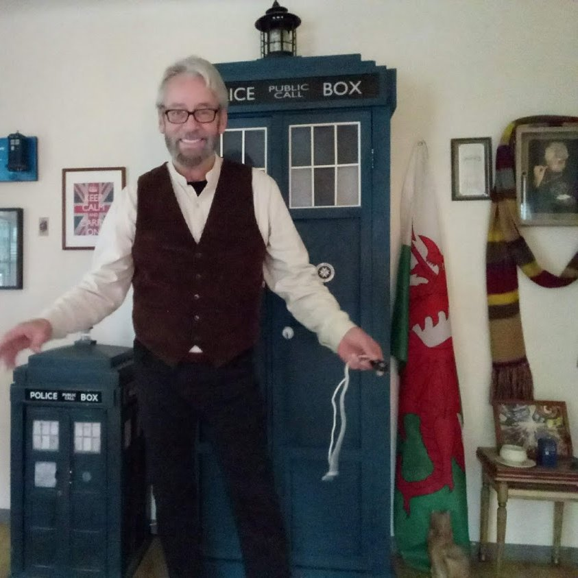 Gary, from TARDIS Cabinets here. The time has come to close the shop so it can be packed up. I'm in the process of moving to the United Kingdom and in 2021 I'll reopen in Wales. I'll be a married man by then.  #StayTuned  #StayHealthy