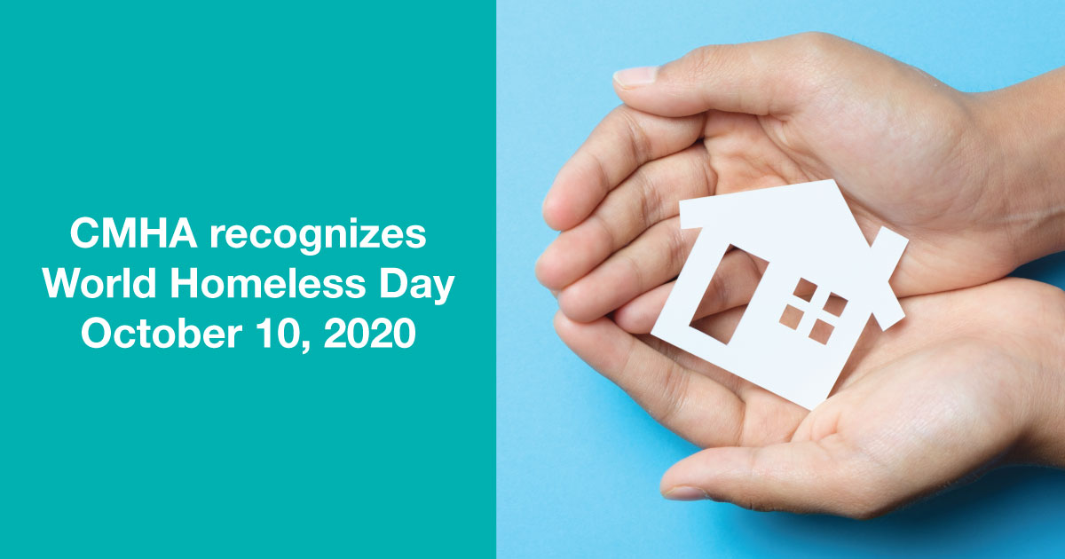 test Twitter Media - CMHA recognizes #WorldHomelessDay on October 10. Housing is key to recovery: https://t.co/yCkxwzxR6w #SupportiveHousing #HousingFirst https://t.co/80RwiHG06L
