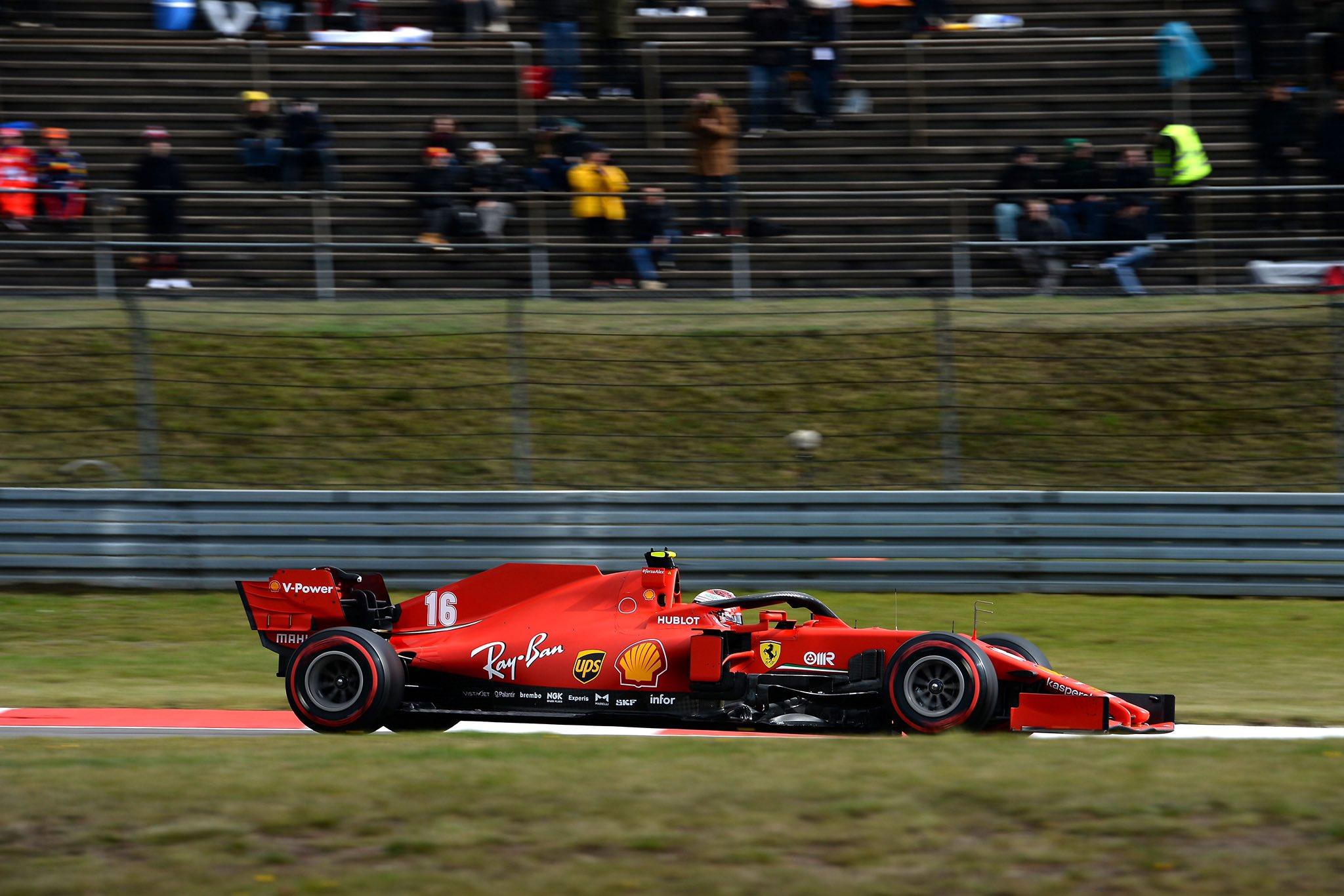 """Leclerc: """"Non disputare le prime due libere ci ha dato un vantaggio..."""""""