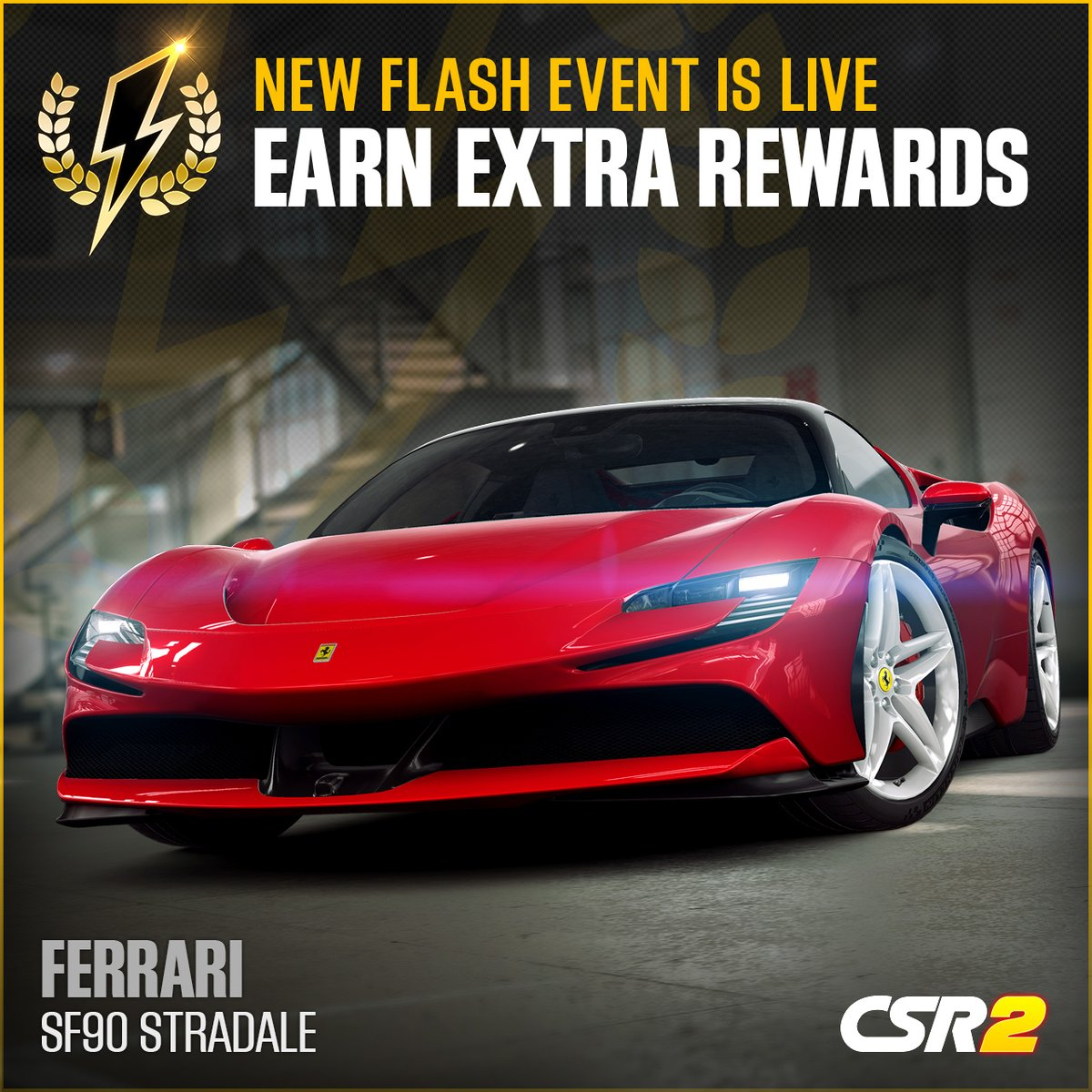 The new in-game Flash Event is live with the Ferrari SF90 Stradale! https://t.co/FLKXCNFN5c