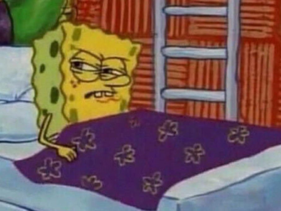 when my body wakes up naturally at 7am on the weekends