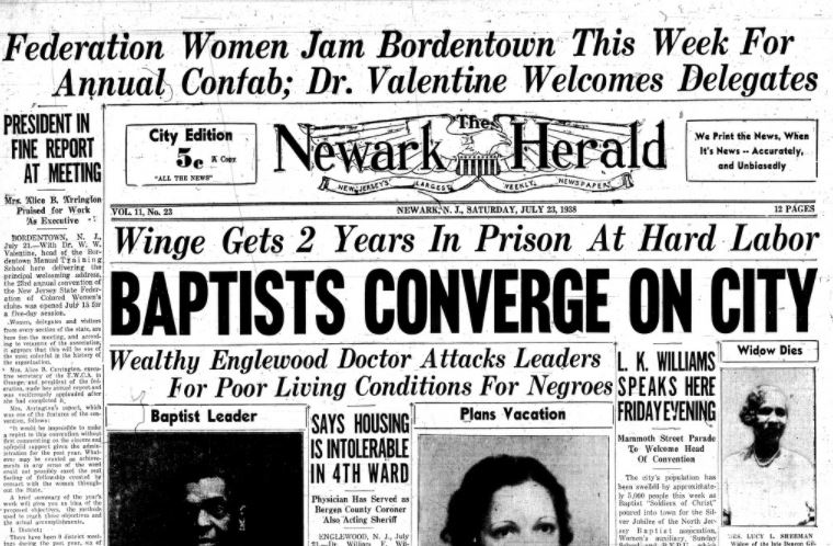 It's #NationalNewspaperWeek. We have digitized issues of the Newark Herald like this one from 1938 on https://t.co/CNON4W1SoA https://t.co/FkiPDtnUFG