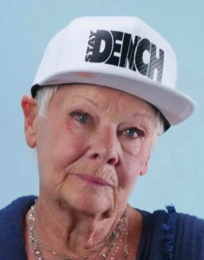 Dame Judi Dench retrains as scaffolder - newsbiscuit.com/2020/10/09/dam…