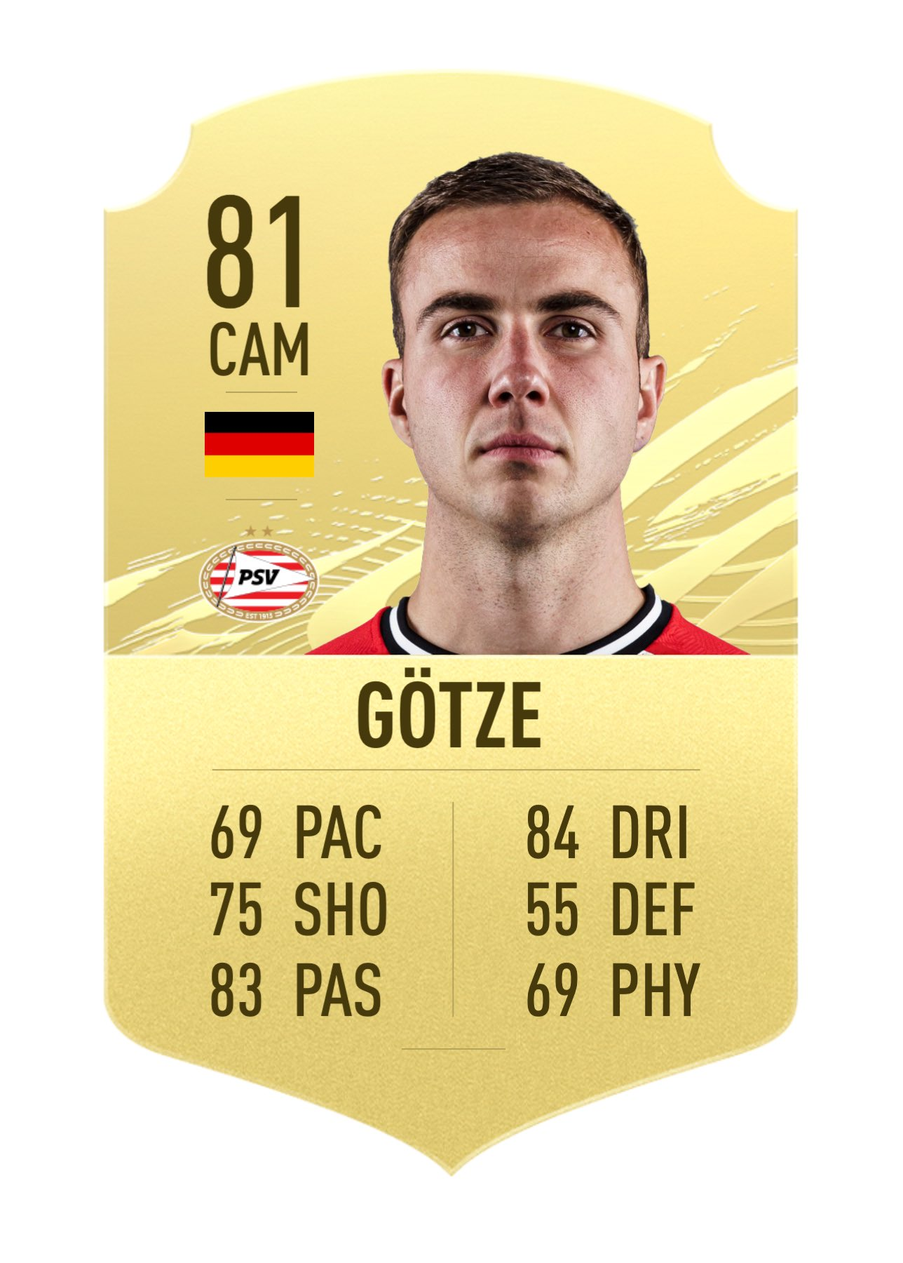 Patric On Twitter Mario Gotze To Psv Also Got Added This Should Be His Card In Fut Based On H2h Tell Me If You Know Any Other Free Agents Who Signed For